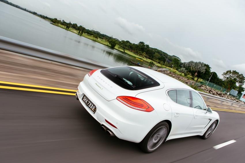 DRIVEN: Porsche Panamera S E-Hybrid in Singapore Image #332506