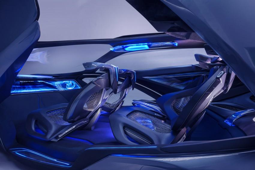 Shanghai 2015: Chevrolet FNR previews a mad future Image #331176