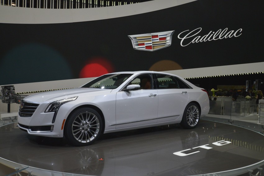2016 Cadillac CT6 rocks up to New York with 400 hp Image #325324