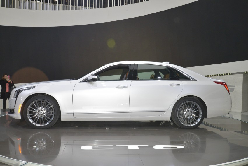 2016 Cadillac CT6 rocks up to New York with 400 hp Image #325326