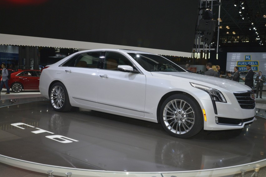 2016 Cadillac CT6 rocks up to New York with 400 hp Image #325320