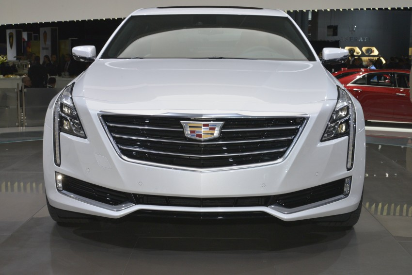 2016 Cadillac CT6 rocks up to New York with 400 hp Image #325319