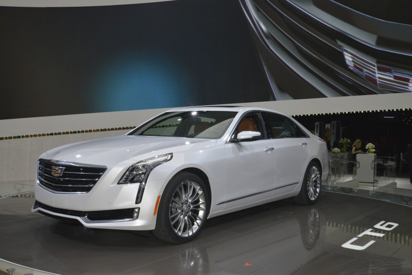 2016 Cadillac CT6 rocks up to New York with 400 hp Image #325316