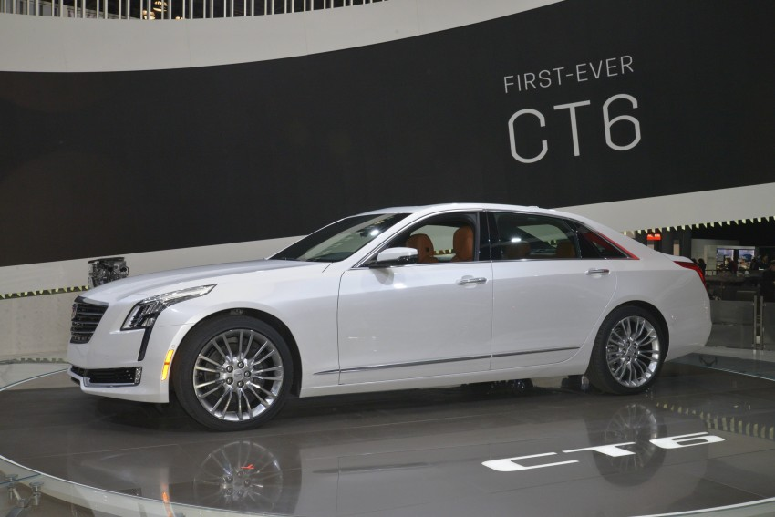 2016 Cadillac CT6 rocks up to New York with 400 hp Image #325317