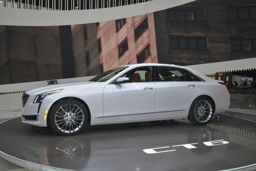 2016 Cadillac CT6 rocks up to New York with 400 hp Image #325315