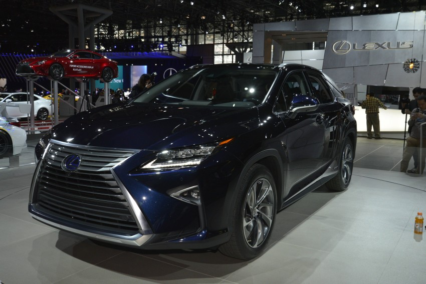 Lexus RX 450h and RX 350 F Sport debut at NYIAS Image #325444