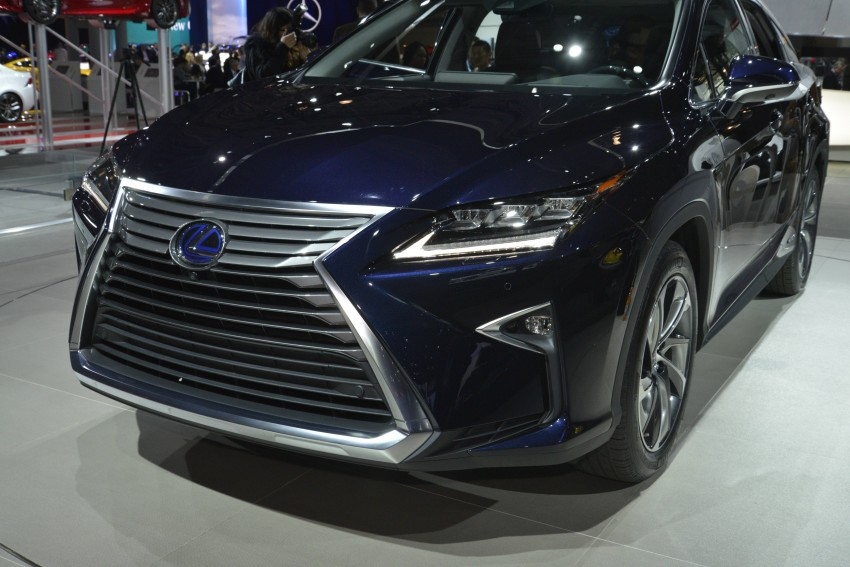 Lexus RX 450h and RX 350 F Sport debut at NYIAS Image #325449