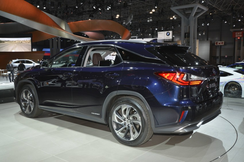 Lexus RX 450h and RX 350 F Sport debut at NYIAS Image #325446