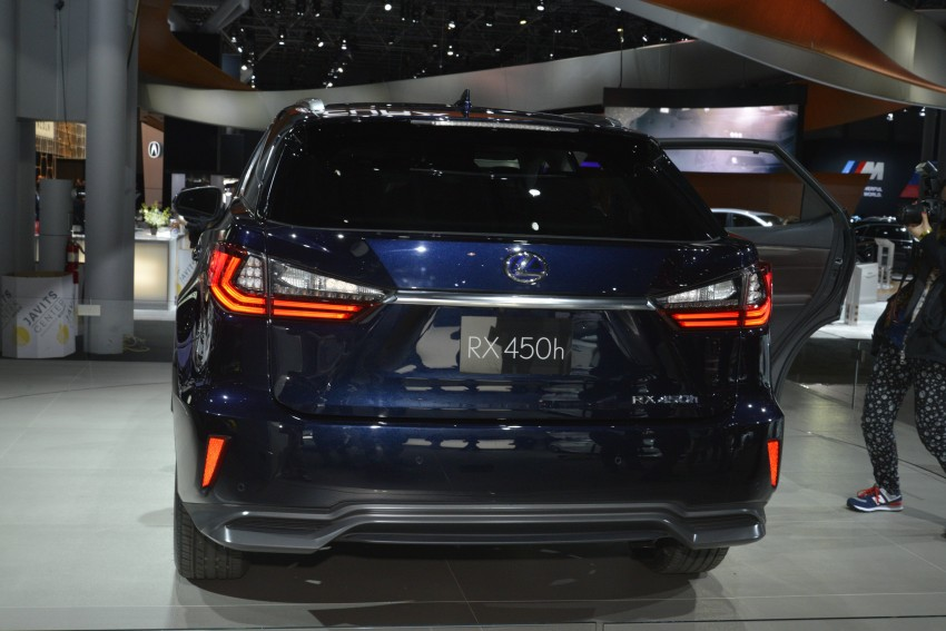 Lexus RX 450h and RX 350 F Sport debut at NYIAS Image #325441