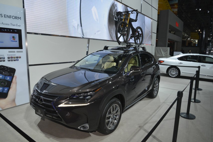 Lexus RX 450h and RX 350 F Sport debut at NYIAS Image #325443