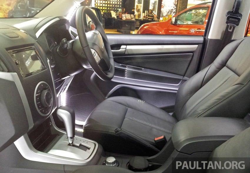 Isuzu MU-X – 7-seater 2.5L SUV previewed in Malaysia Image #332085