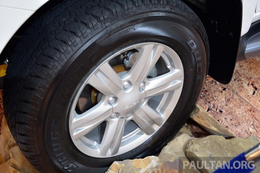 Isuzu MU-X – 7-seater 2.5L SUV previewed in Malaysia Image #331976