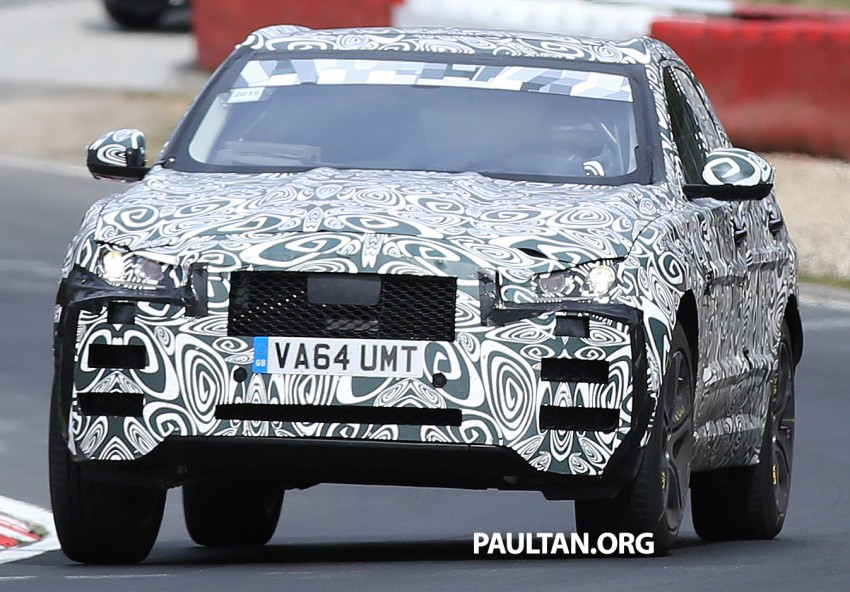 VIDEO: Jaguar F-Pace goes winter testing in Europe Image #327743