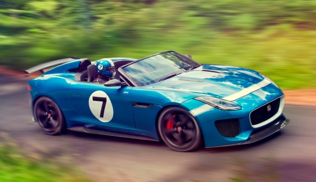 Jaguar F Type Project 7 2 out of 250 coming to Malaysia
