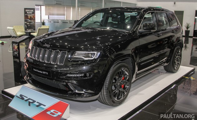 jeep grand cherokee srt now in malaysia rm699k. Black Bedroom Furniture Sets. Home Design Ideas