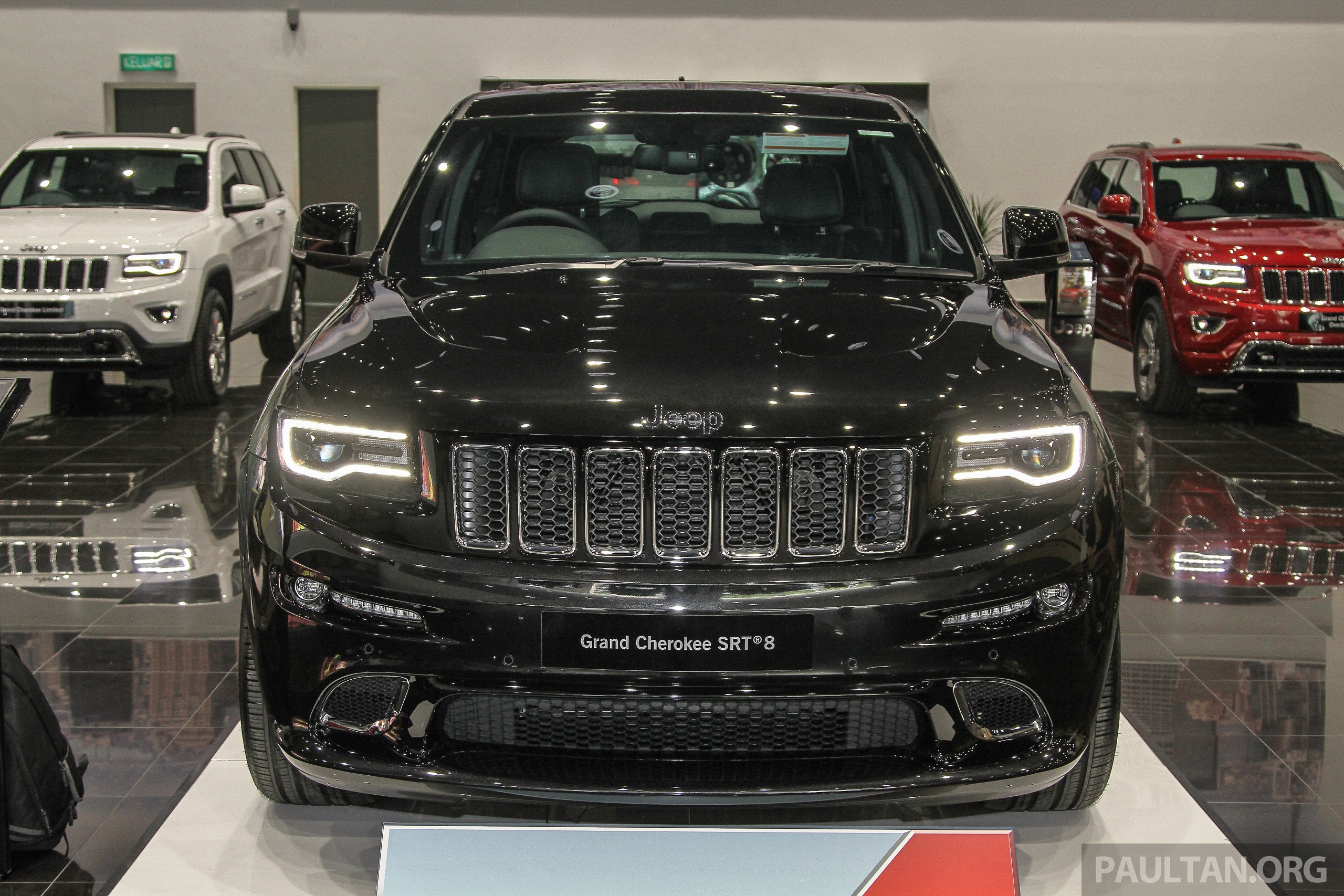 2015 Jeep Grand Cherokee Srt >> Jeep Grand Cherokee SRT now in Malaysia - RM699k