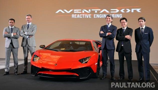 Lamborghini Aventador Lp750 4 Superveloce Makes Asean Debut 5