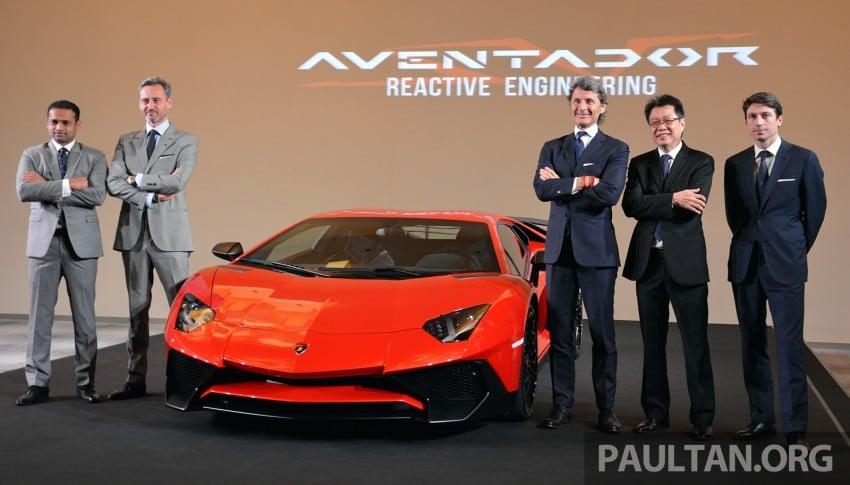 Lamborghini Aventador LP750-4 Superveloce makes ASEAN debut – 5 units for Malaysia at RM3.5m est Image #331447