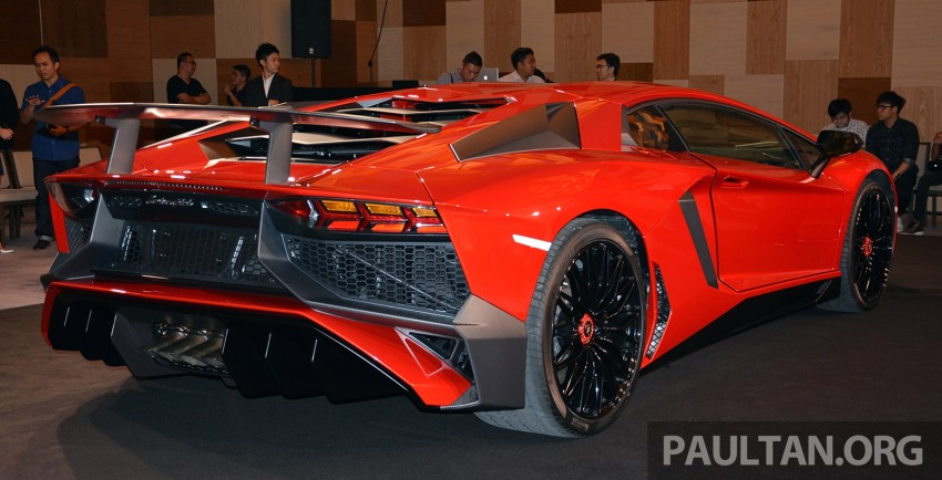 Lamborghini Aventador LP750-4 Superveloce makes ASEAN debut – 5 units for Malaysia at RM3.5m est Image #331457