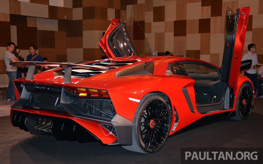 Lamborghini Aventador LP750-4 Superveloce makes ASEAN debut – 5 units for Malaysia at RM3.5m est Image #331460