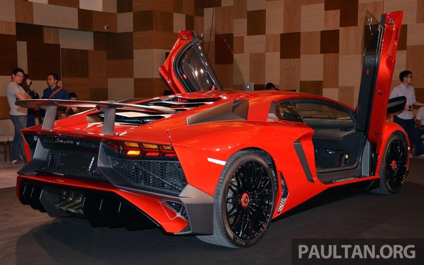 Lamborghini Aventador LP750-4 Superveloce makes ASEAN debut – 5 units for Malaysia at RM3.5m est Image #331460