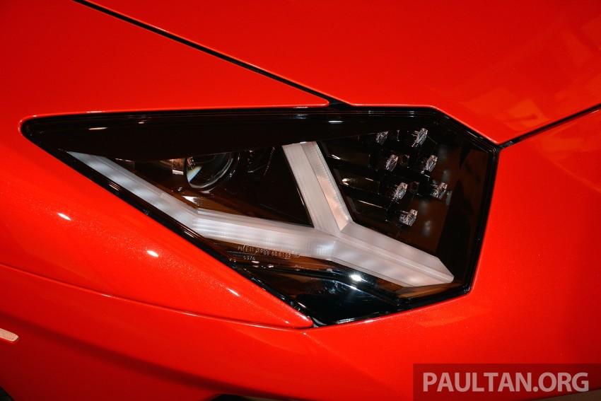 Lamborghini Aventador LP750-4 Superveloce makes ASEAN debut – 5 units for Malaysia at RM3.5m est Image #331467