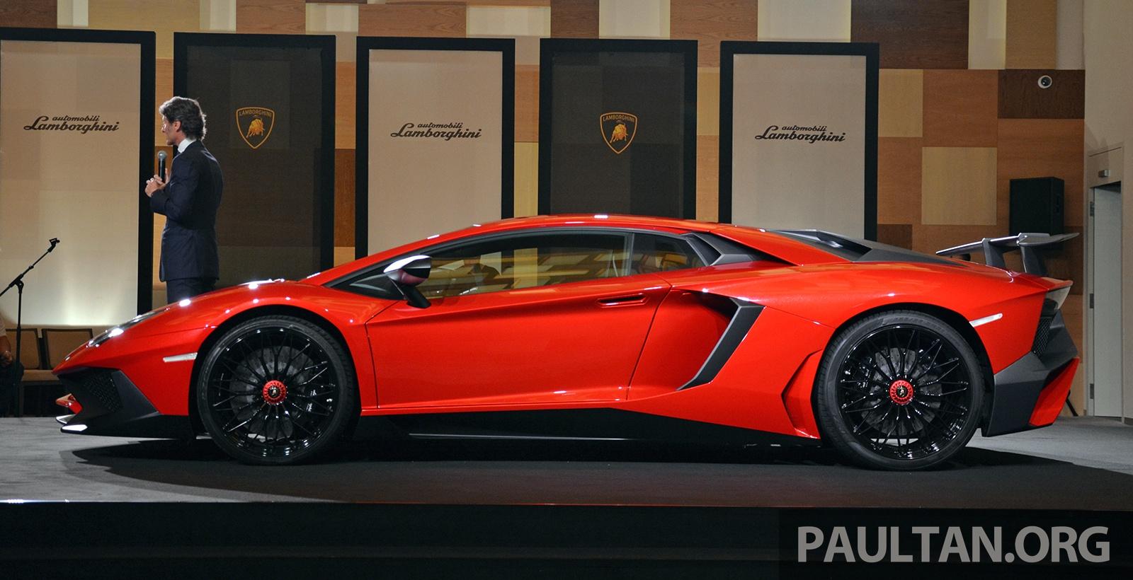 2017 Lambo Price >> Lamborghini Aventador LP750-4 Superveloce makes ASEAN ...