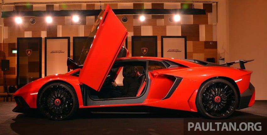 Lamborghini Aventador LP750-4 Superveloce makes ASEAN debut – 5 units for Malaysia at RM3.5m est Image #331492