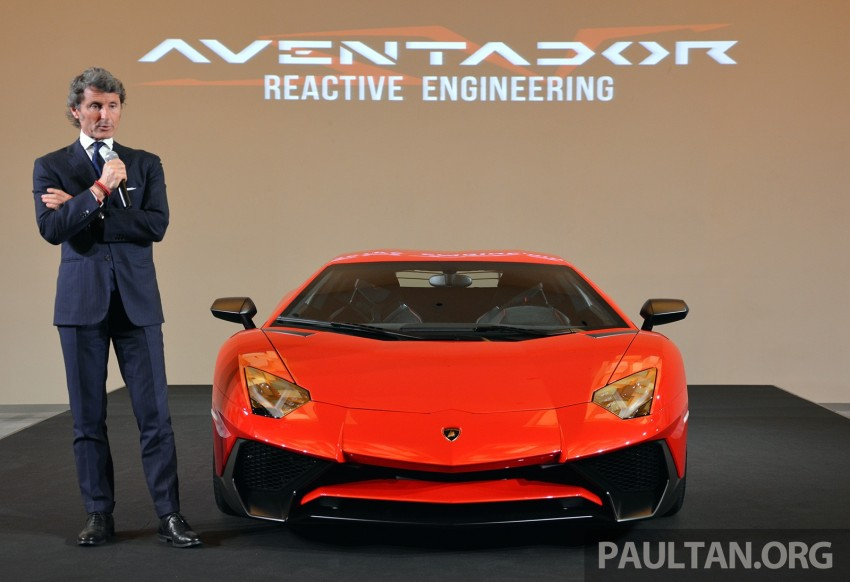 Lamborghini Aventador LP750-4 Superveloce makes ASEAN debut – 5 units for Malaysia at RM3.5m est Image #331451