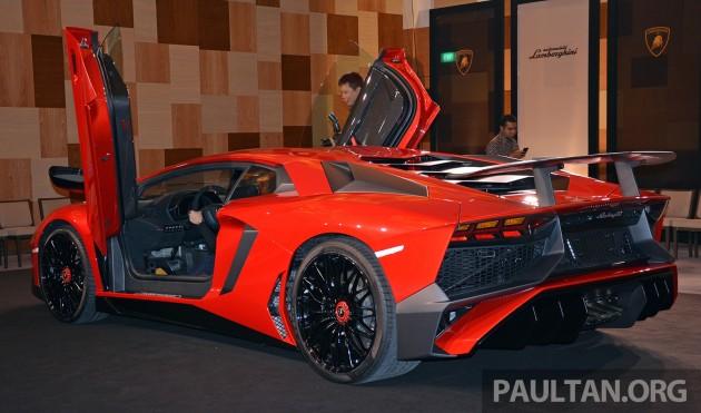 Lamborghini Aventador SV 50