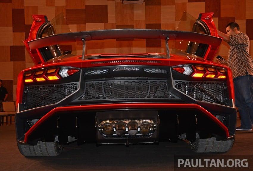 Lamborghini Aventador LP750-4 Superveloce makes ASEAN debut – 5 units for Malaysia at RM3.5m est Image #331498