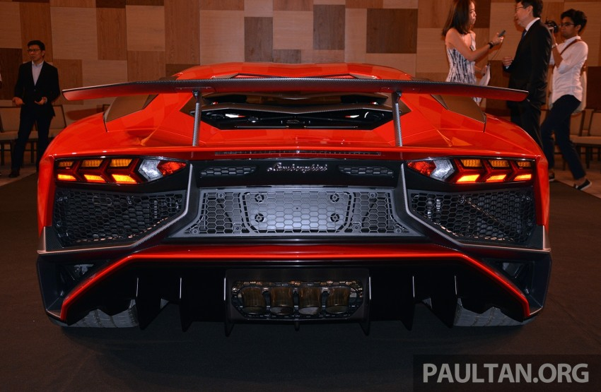 Lamborghini Aventador LP750-4 Superveloce makes ASEAN debut – 5 units for Malaysia at RM3.5m est Image #331453