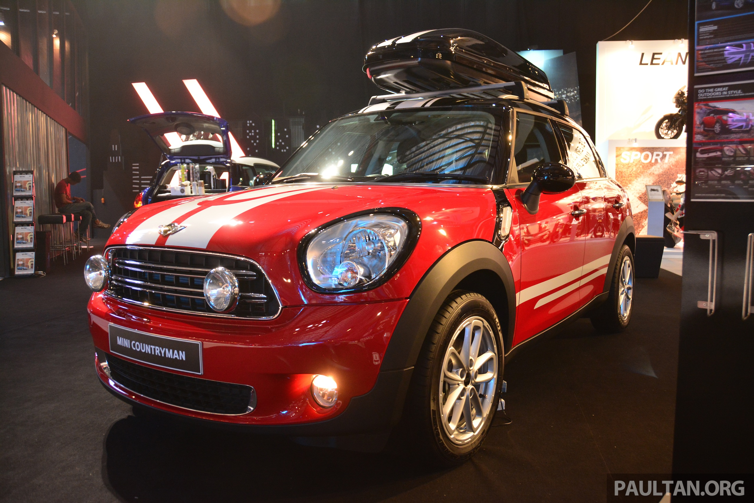 mini cooper countryman facelift launched rm199k. Black Bedroom Furniture Sets. Home Design Ideas
