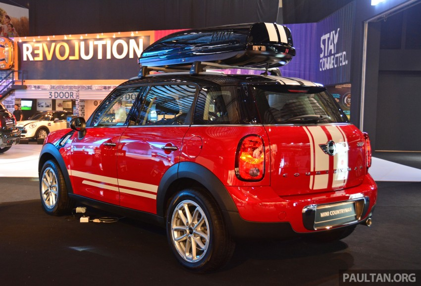 MINI Cooper Countryman facelift launched – RM199k Image #329093