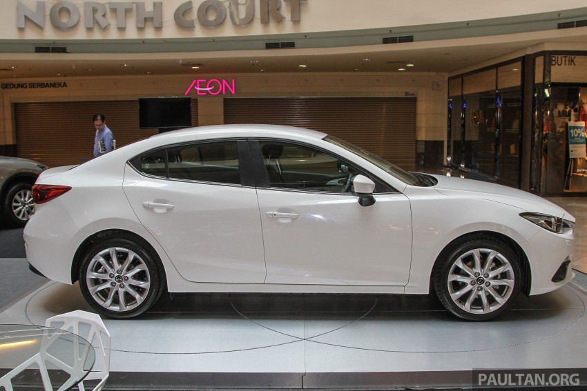 Mazda 3 CKD launched in Malaysia, RM106k-121k Image #326245