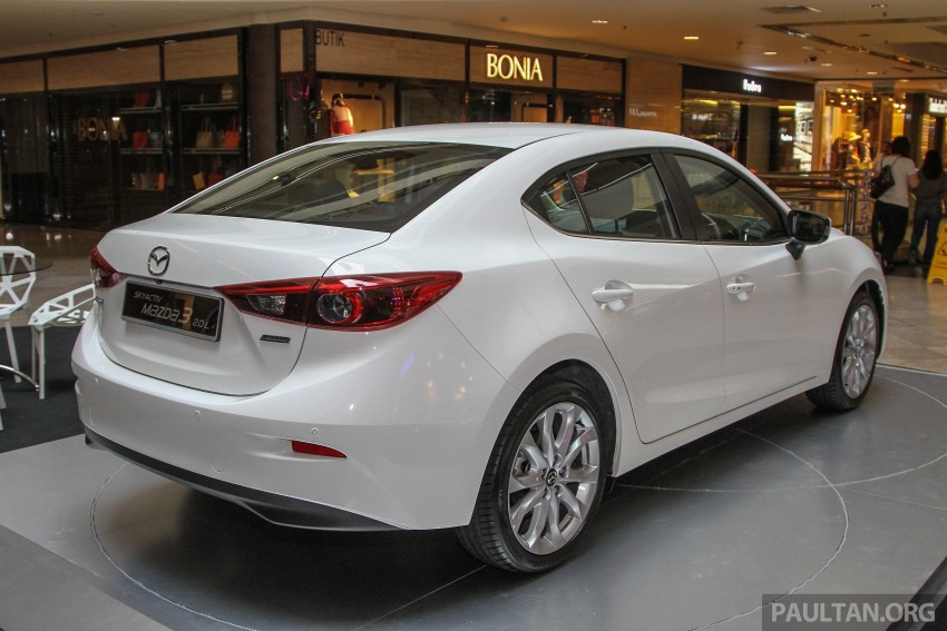 Mazda 3 CKD launched in Malaysia, RM106k-121k Image #326246
