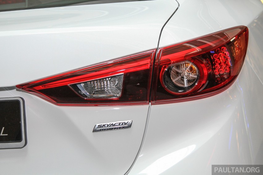 Mazda 3 CKD launched in Malaysia, RM106k-121k Image #326248