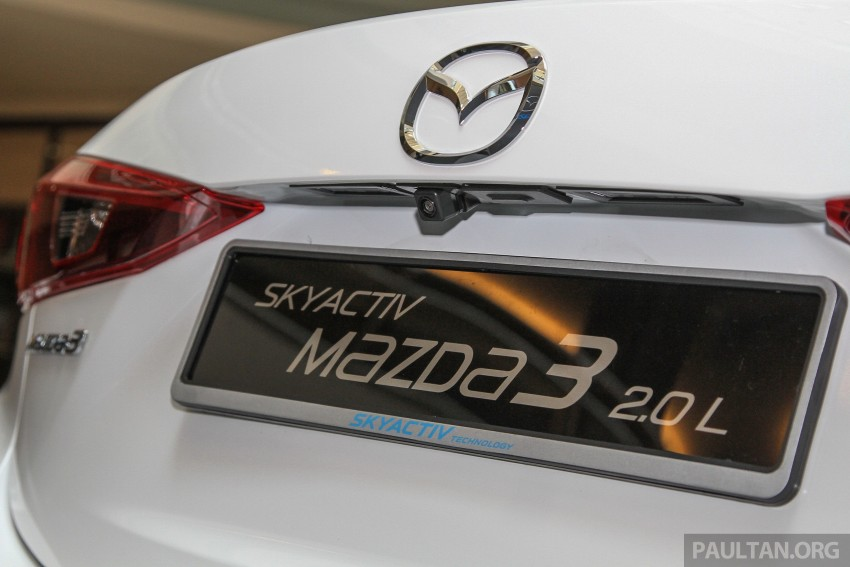 Mazda 3 CKD launched in Malaysia, RM106k-121k Image #326250