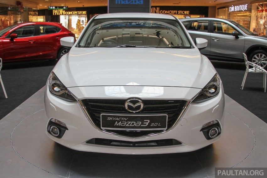 Mazda 3 CKD launched in Malaysia, RM106k-121k Image #326233