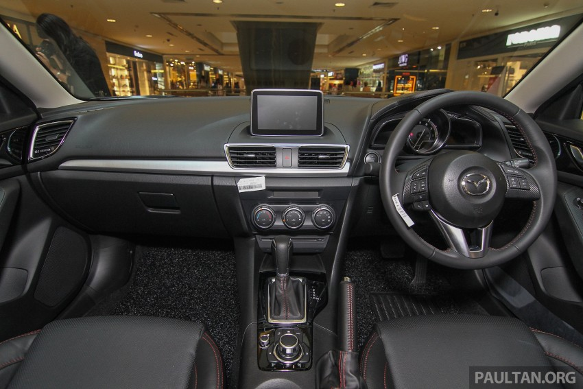 Mazda 3 CKD launched in Malaysia, RM106k-121k Image #326228