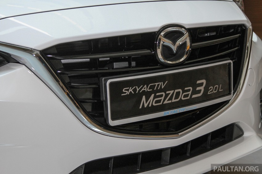 Mazda 3 CKD launched in Malaysia, RM106k-121k Image #326237