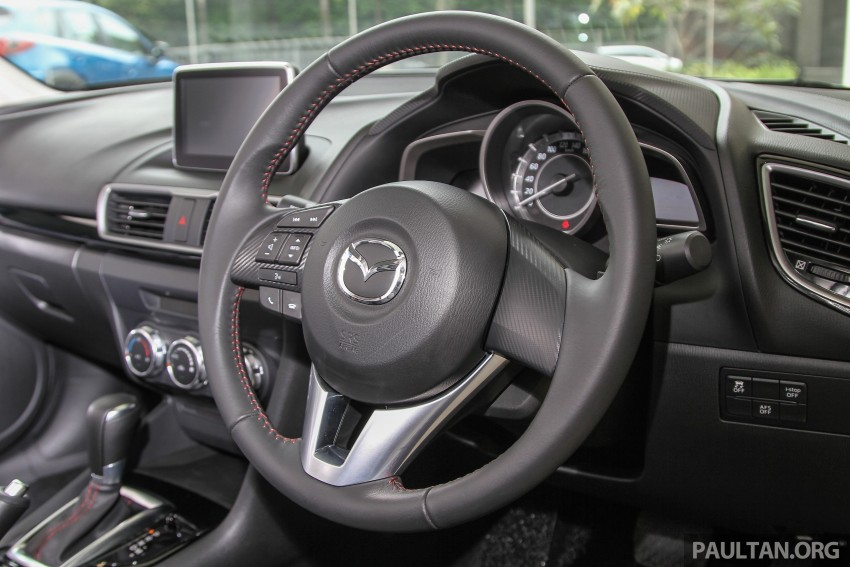 Mazda 3 CKD launched in Malaysia, RM106k-121k Image #326560