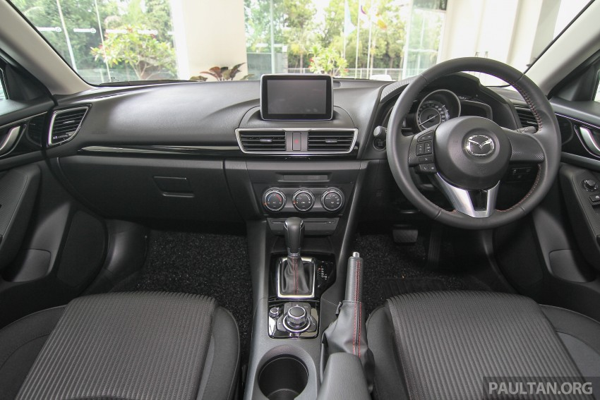 Mazda 3 CKD launched in Malaysia, RM106k-121k Image #326570