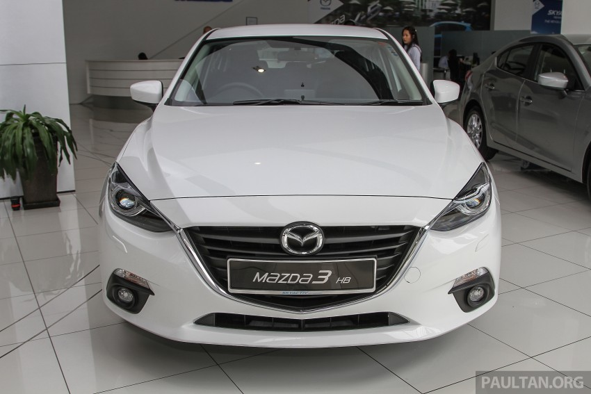 Mazda 3 CKD launched in Malaysia, RM106k-121k Image #326585