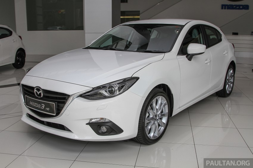 Mazda 3 CKD launched in Malaysia, RM106k-121k Image #326587