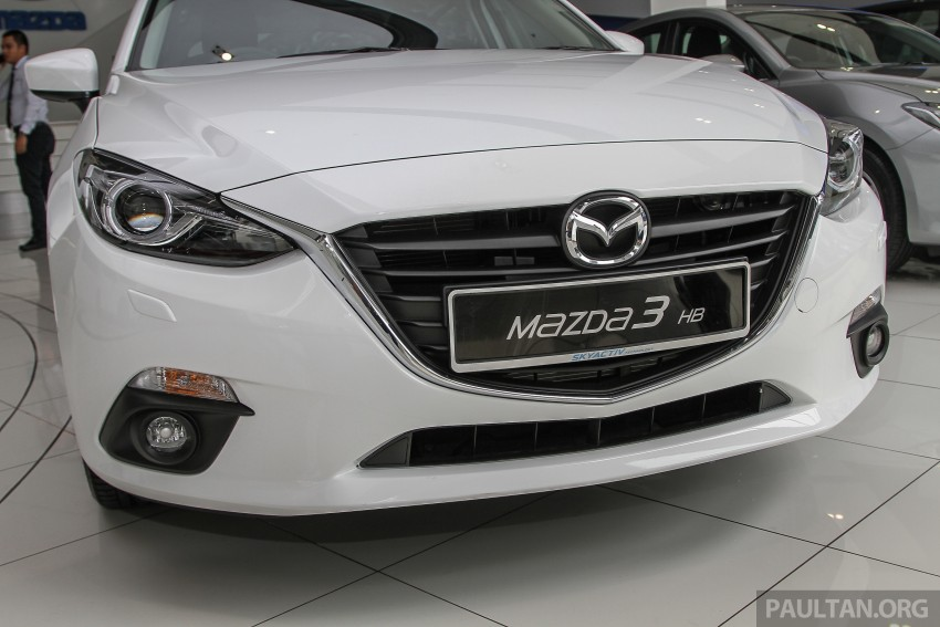 Mazda 3 CKD launched in Malaysia, RM106k-121k Image #326588