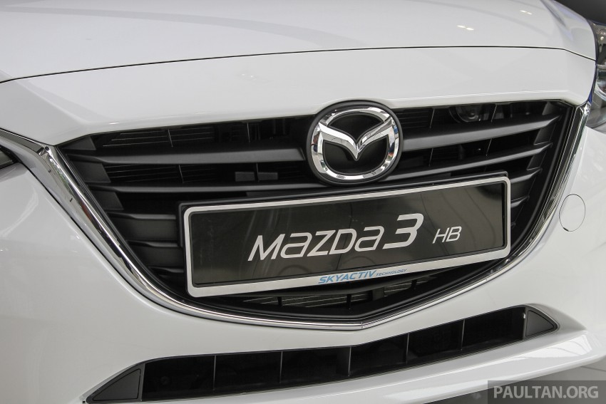 Mazda 3 CKD launched in Malaysia, RM106k-121k Image #326590