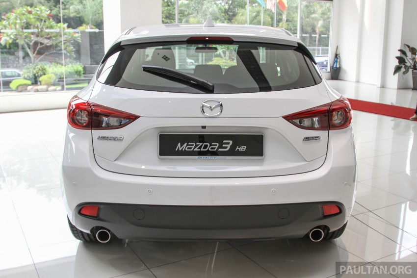 Mazda 3 CKD launched in Malaysia, RM106k-121k Image #326598