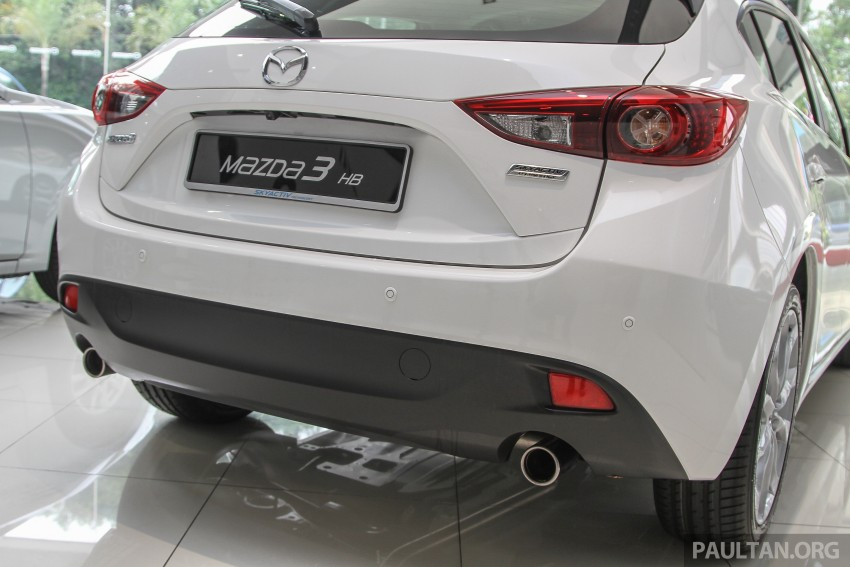 Mazda 3 CKD launched in Malaysia, RM106k-121k Image #326600
