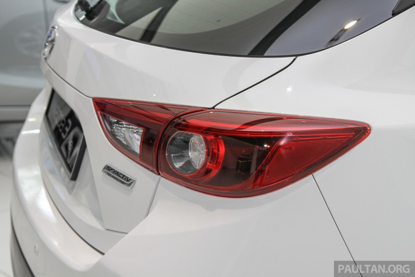 Mazda 3 CKD launched in Malaysia, RM106k-121k Image #326604